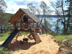 playset for vacation rental visitors